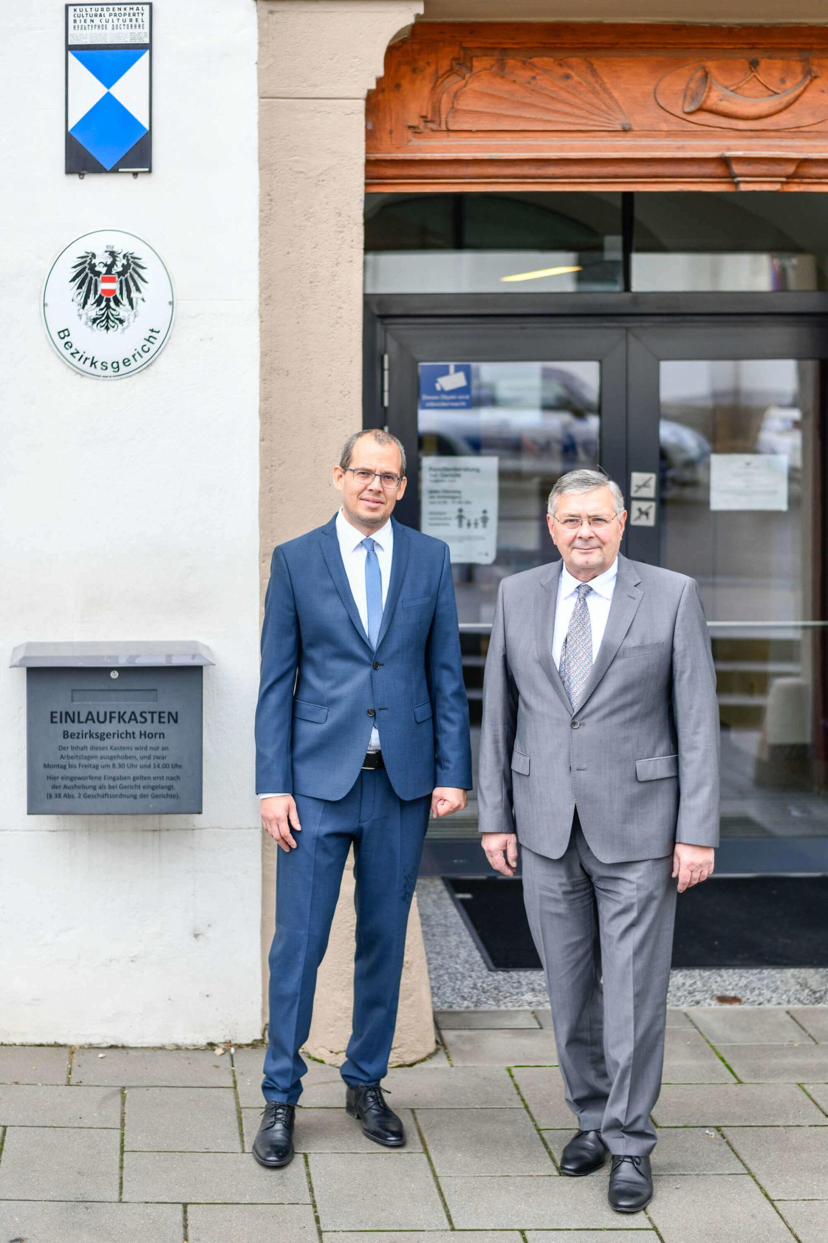 Anwälte vor der Haustür - Dr. Heinrich Nagl und Mag. Timo Ruisinger - Rechtsanwälte in 3580 Horn